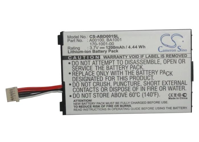 Cameron Sino 1200mAh batteria 170-1001-00, A00100, BA1001 per Amazon Kindle, Kindle D00111
