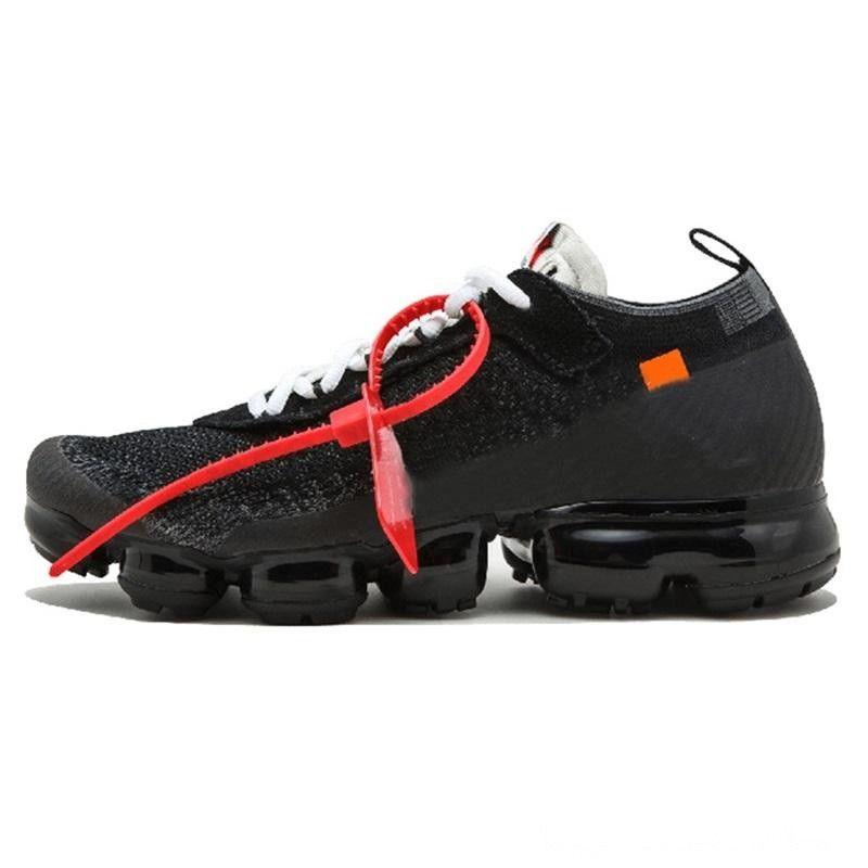 Nike Air VaporMax FK 2018 Venda vapores Fly 2.0 II Knit FK 2.0 Homens sapatos Oeste VPM Lazer sapatos Black White Casual respirável Sneakers Tamanho 36-46 PP03