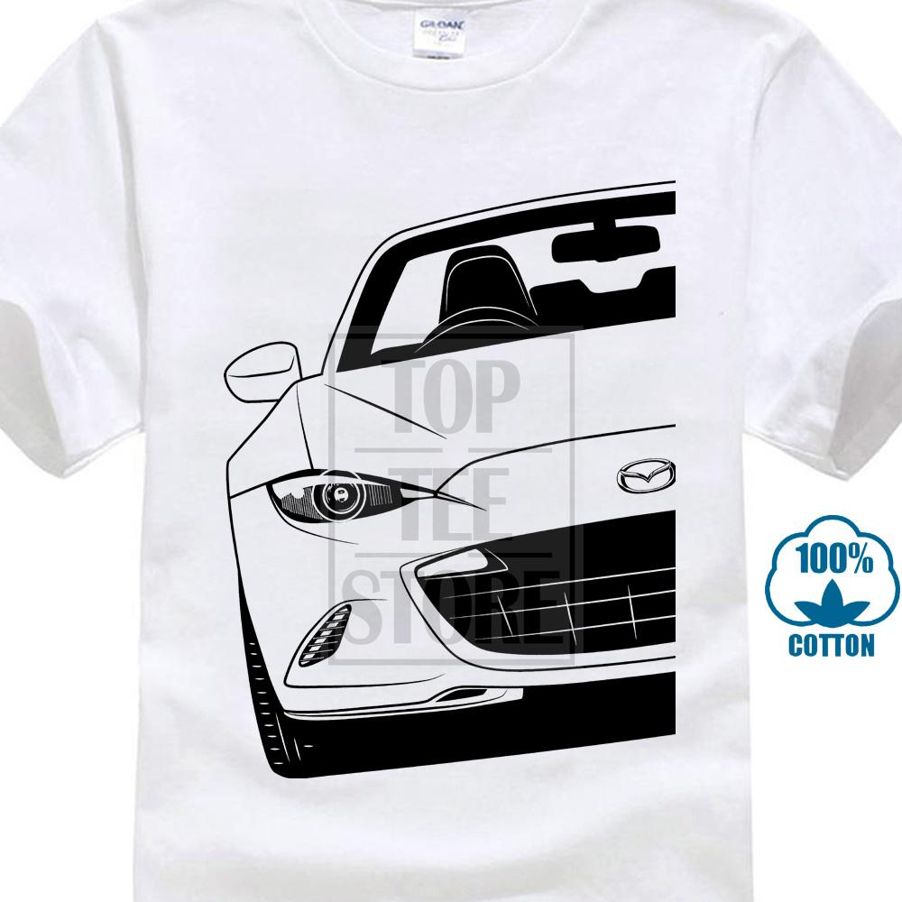 Moda Cool Men T Shirt Mujeres Camiseta divertida Descuento al por mayor Miata Mx5 Nd Mk4 Camisas Mejor diseño personalizado Camiseta impresa