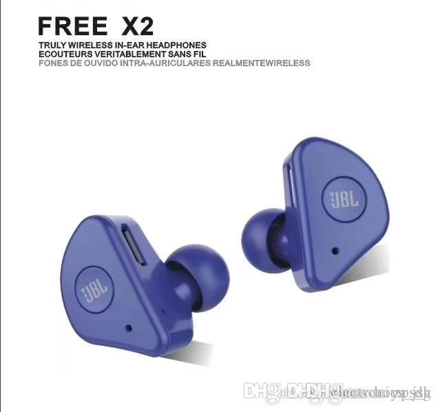 2019 Bluetooth della cuffia anc rosso blu bianco nero di colore gancio per l'orecchio senza fili Bluetooth Stereo Sport auricolari cuffie 4.2 calerix wireless