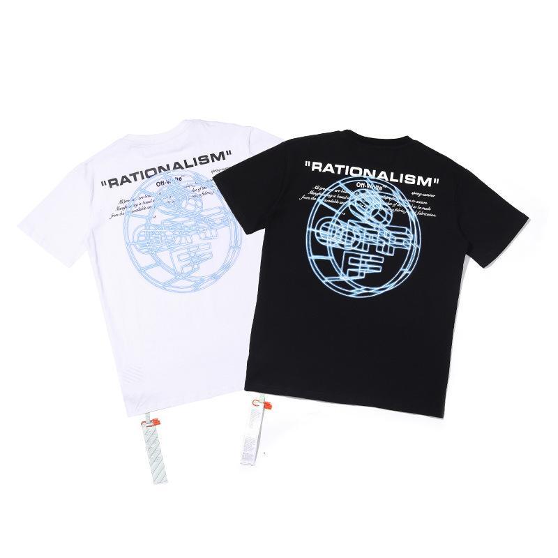 2020 hombres de alta calidad de manga corta de moda de verano camiseta casual cómodo cuello redondo camiseta ropa de moda P3MIF2DK
