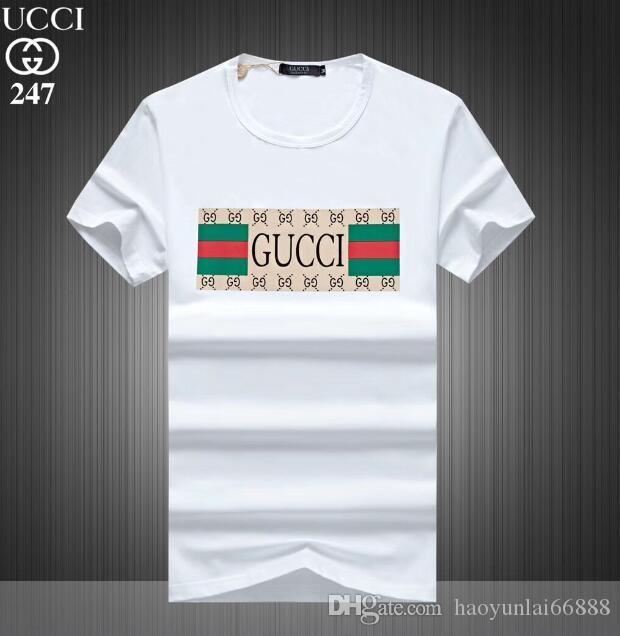 2020 vêtements en gros G hommes T-shirts de tigre plein écran impression vêtements hip hop hommes DESIGNERS chemises taille plus bleu Kaki 247