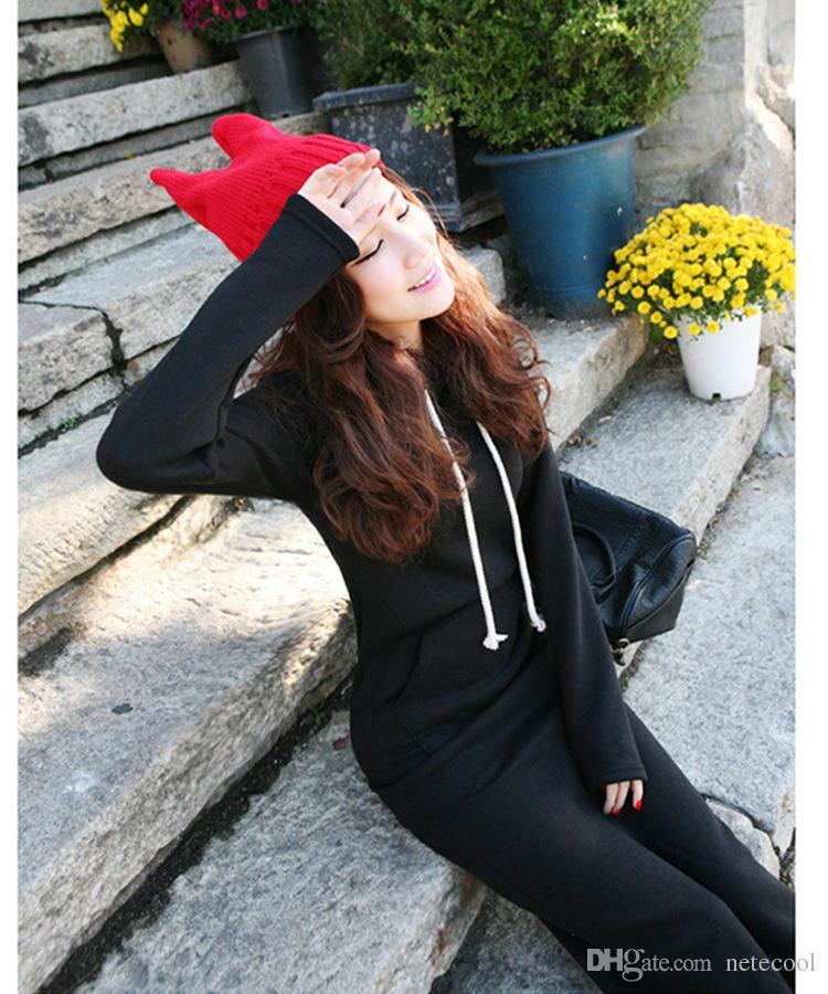 Женщины Плюс Размер 5XL Осень Зима Женщины тонкие Толстовки С Капюшоном Zip-Up Длинный Толстовка Платье С Длинным Рукавом Мешковатые Куртки Пальто И Пиджаки