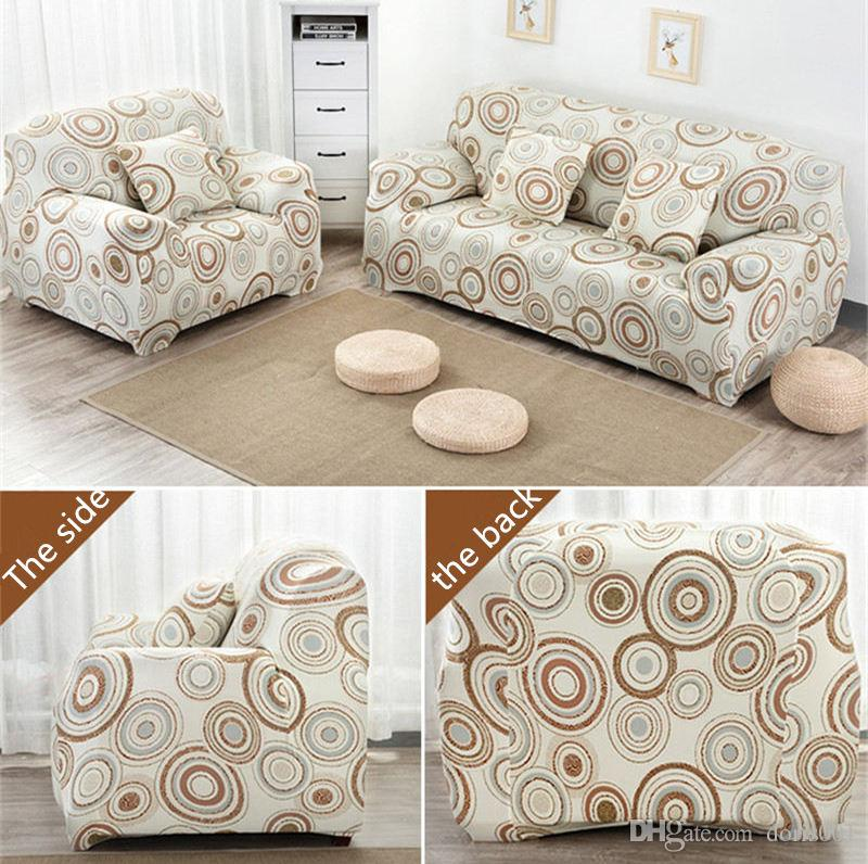 Geometric Patte Slipcover Elastic Sofa Cushion Chair Covers Washable Universal Sectional Slipcover Pillowcase For Living Room 1 2 3 4 Seater Seat