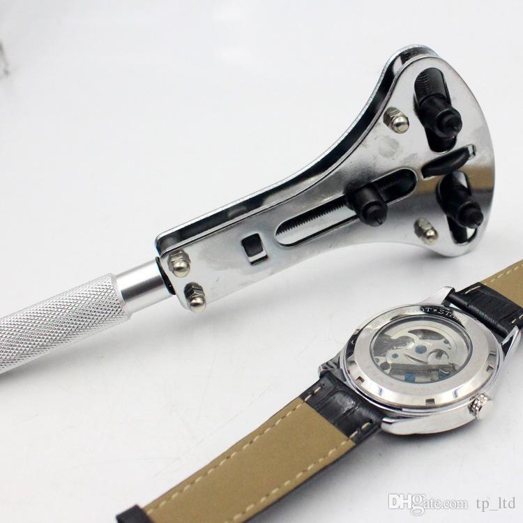Profesyonel İzle Araçları İzle Onarım için 3 Çene Saat Aracı İzle Vaka Açıcı Anahtarı Aracı Saatçi için SıCAK SATıŞ