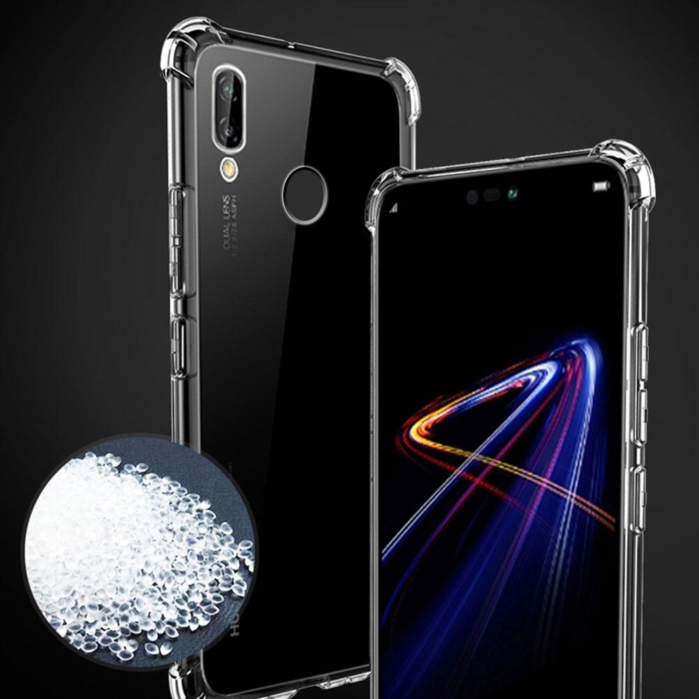 Shockproof Silicone Phone Case For Huawei P30 P20 Pro Mate 30 20 Pro Soft Transparent Shell For Honor V30 Pro Nova 5 6 SE