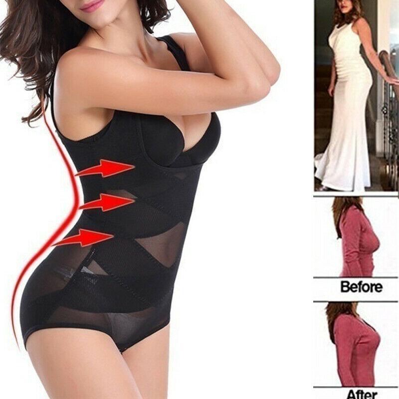Mulheres Bodysuit Yoga Underwear magro sexy sutiã push-up Hip Lifter cintura instrutor Cincher Bodysuit Corset Shaper Corpo