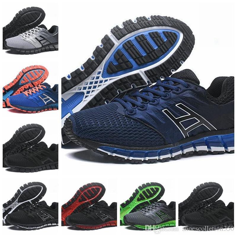 Asics GEL-Quantum 180 Qualidade superior 180 gel-quântica 2 2 s homens tênis de corrida original barato tênis de corrida nova moda calçados esportivos tamanho 40-45