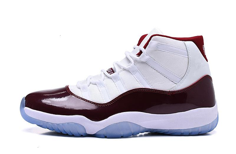 11 3 7 12 sıcak satış s Beyaz Şarap Kırmızı Erkek Basketbol Klasik Xi d Moda Spor Spor ayakkabılar Kutu Boyutu ABD- Açık Ayakkabı ile gel