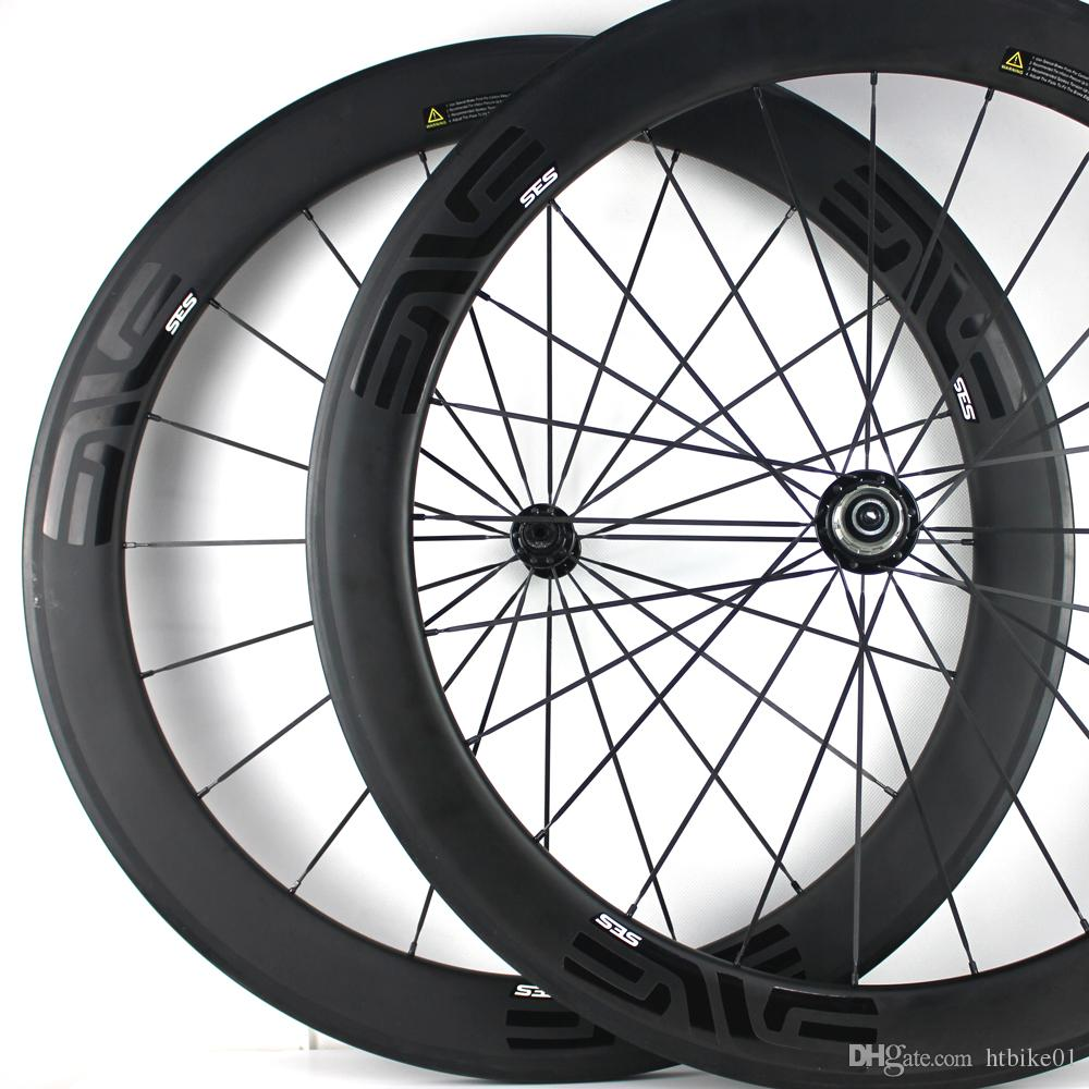 700c Carbon Road Bike Wheel 30mm 38mm 46mm 50mm 60mm 88mm Tubeless Clincher Tubular Powerway J-bend R13 hub Pillar 1432 Spoke