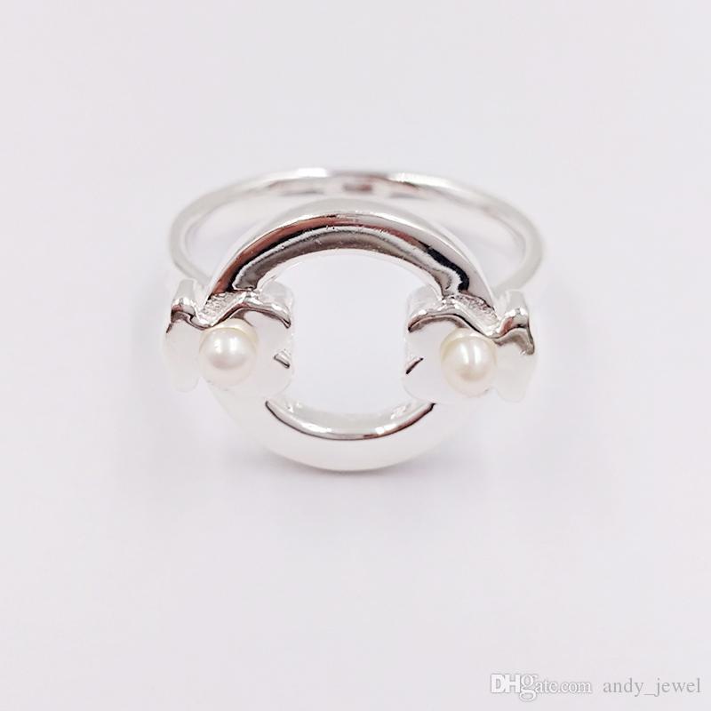 Orso gioielli 925 anelli in argento sterling argento argento super power anello con perle adatti regalo di stile europeo di gioielli C812405500