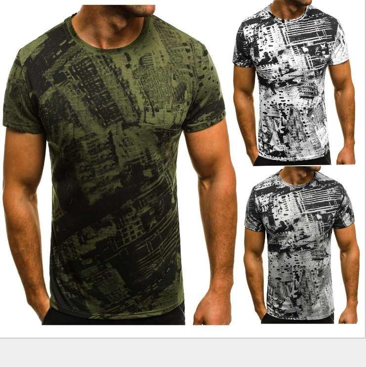 Creativas hombre aptitud camiseta camisa de hombre Slim Fit verano encabeza Pareja unisex nueva ropa