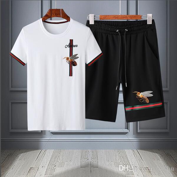 yy 2019 nuevo conjunto de sudadera diseñador de hombres corriendo ropa deportiva traje de los hombres Medusa ropa deportiva casual ropa deportiva