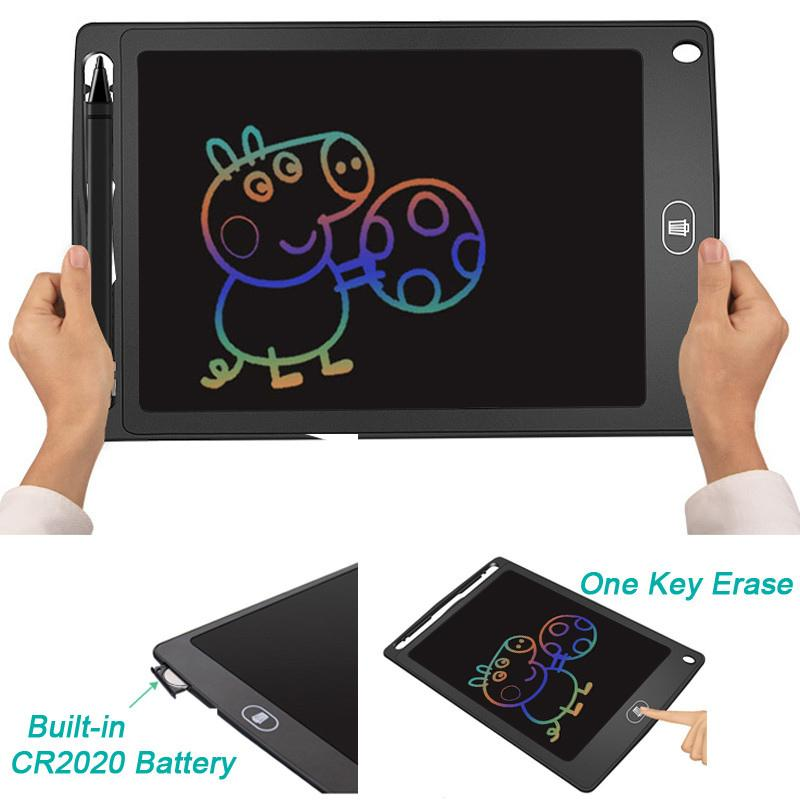 with Screen Lock Button Color : B for Home Job School Office Blackboard 10 Inch LCD Drawing Board Gifts Electronic Writing Tablet Portable Writing Board