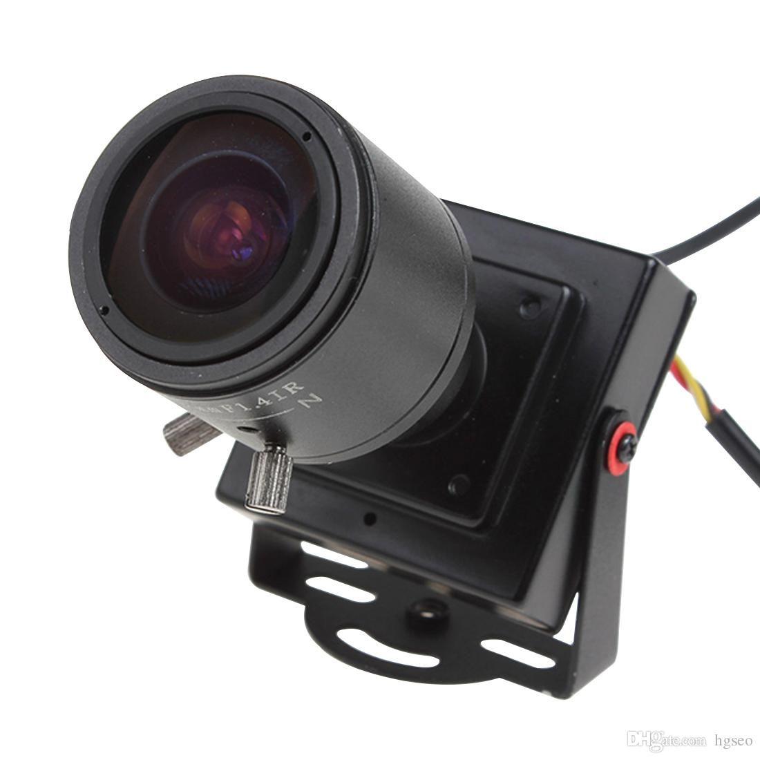 2.8-12mm 수동 렌즈 미니 HD 700TVL 1/3 CMOS 보안 오디오 비디오 컬러 CCTV 카메라 CCT_535