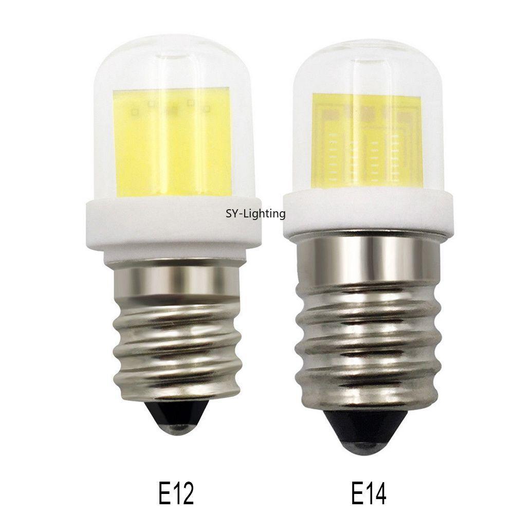 C7 Led Bulb >> E12 C7 E14 E14s Mini Led Bulb Lamp 4w Cob Smd 1511 Ceramics Glass Light 110v 220v Package Of 10 4 Pin Led Bulb 25 Watt Led Bulb From Gobetter