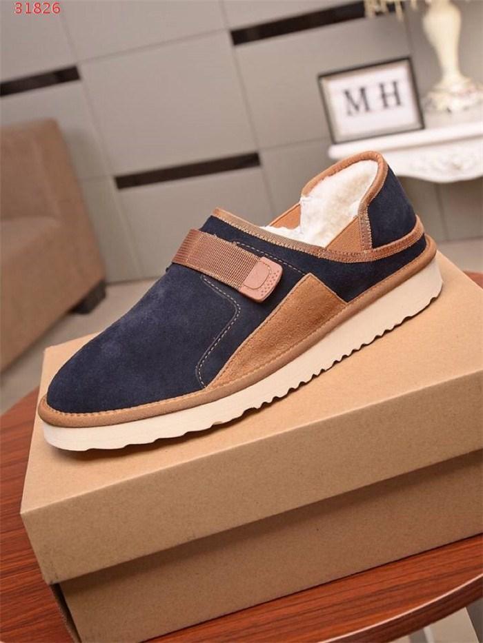 polar sıcak düşük olan Erkek klasik kürk bir vücut bere Ayakkabı Moda Kış tahta ayakkabılar - üst daireler pamuk ayakkabı, Eşleştirme Ambalaj
