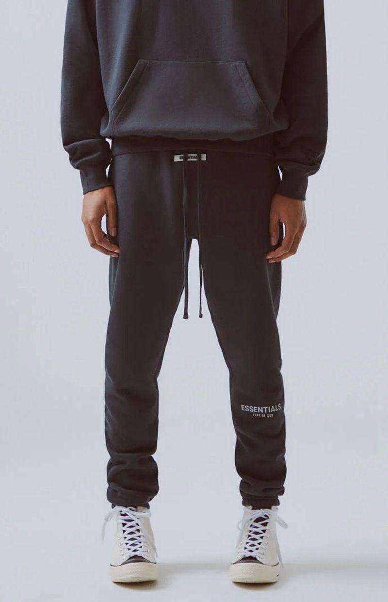 سروال رجل سروال 19FW أساسيات شارع العليا للرجال عاكس بنطال رياضة الرجال الهيب هوب الشارع الشهير آسيا الحجم