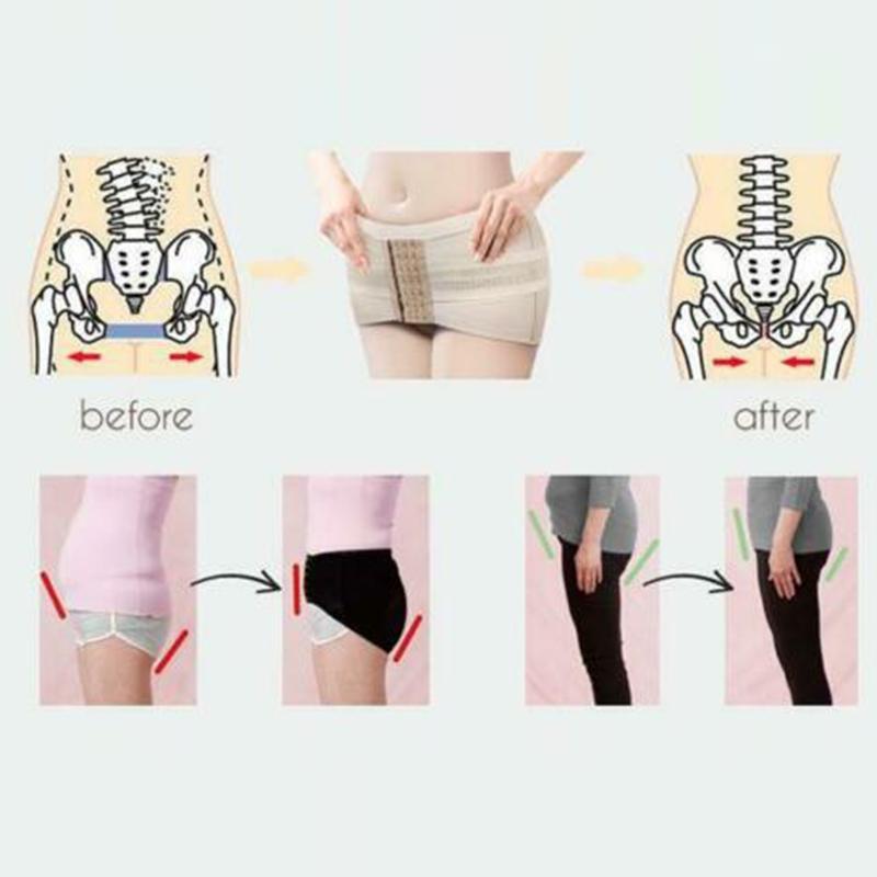 Hüfthebung Becken- Haltung Correcting Gürtel Stützband Breathable Frauen Schwangerschafts-SSA-19ING