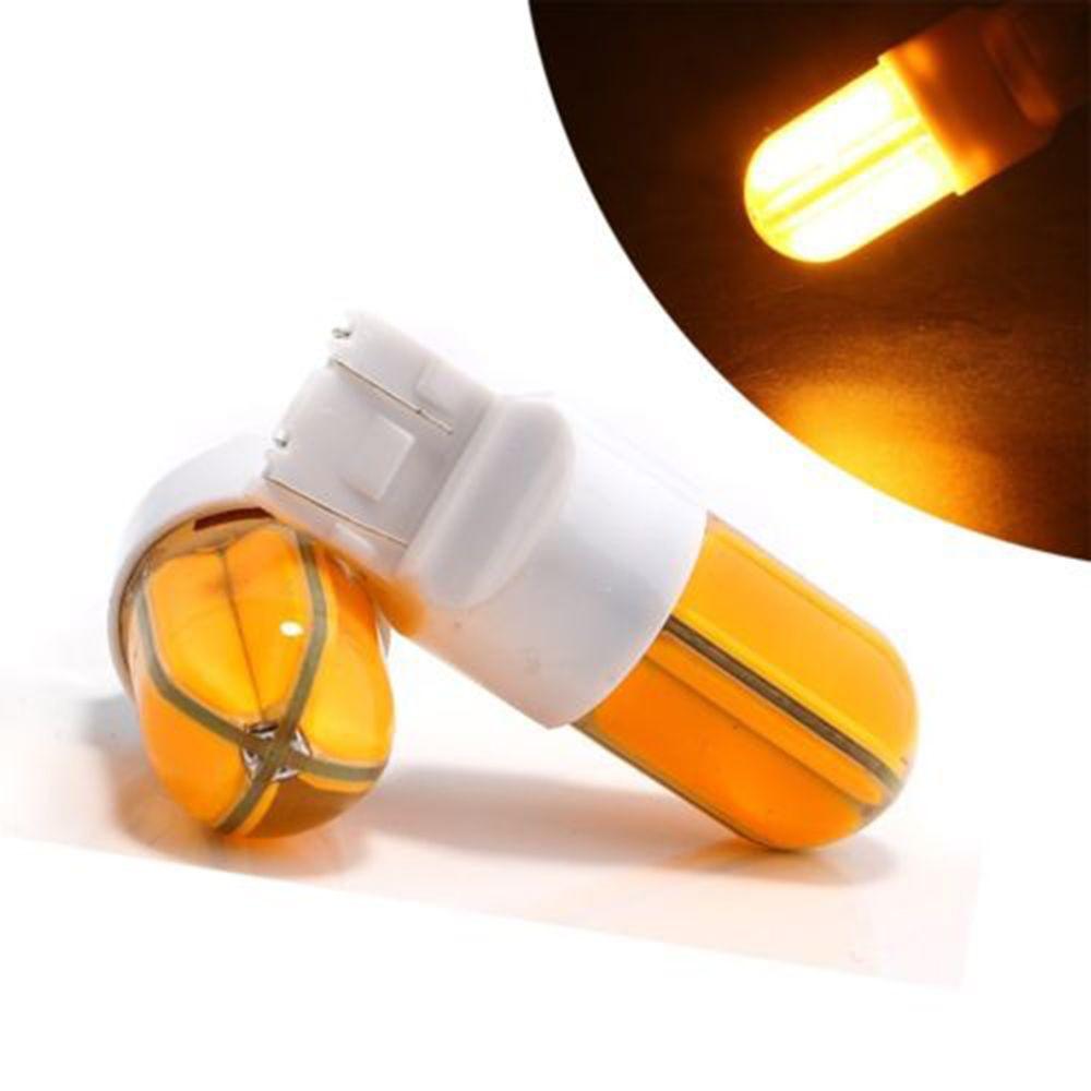 2 Adet T20 7440 7443 S25 1156 / BA15S 1157 / BAY15D 48SMD COB SILICA LED Işıkları Araba Fren Ters Sinyal Aydınlatma Beyaz Sarı Kırmızı
