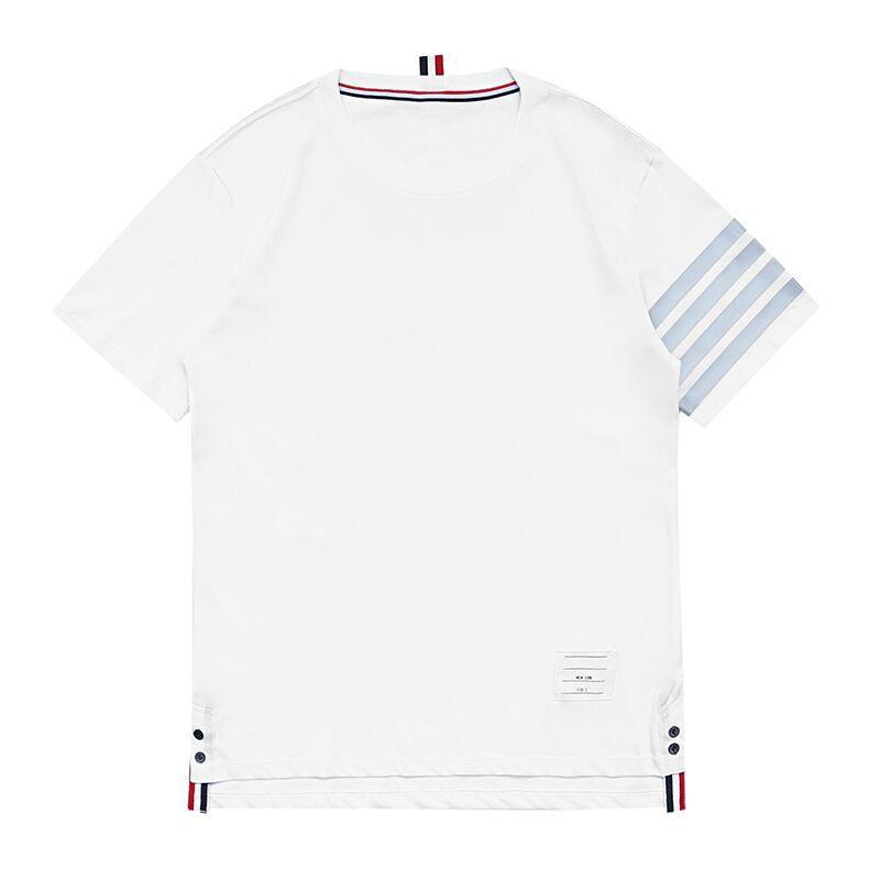 Designer shirt di lusso del Mens Abbigliamento Uomo modello lettera Stampato Tees girocollo maglietta di estate Uomini di Hip Hop Sleeve.SZ1 Corto Donne