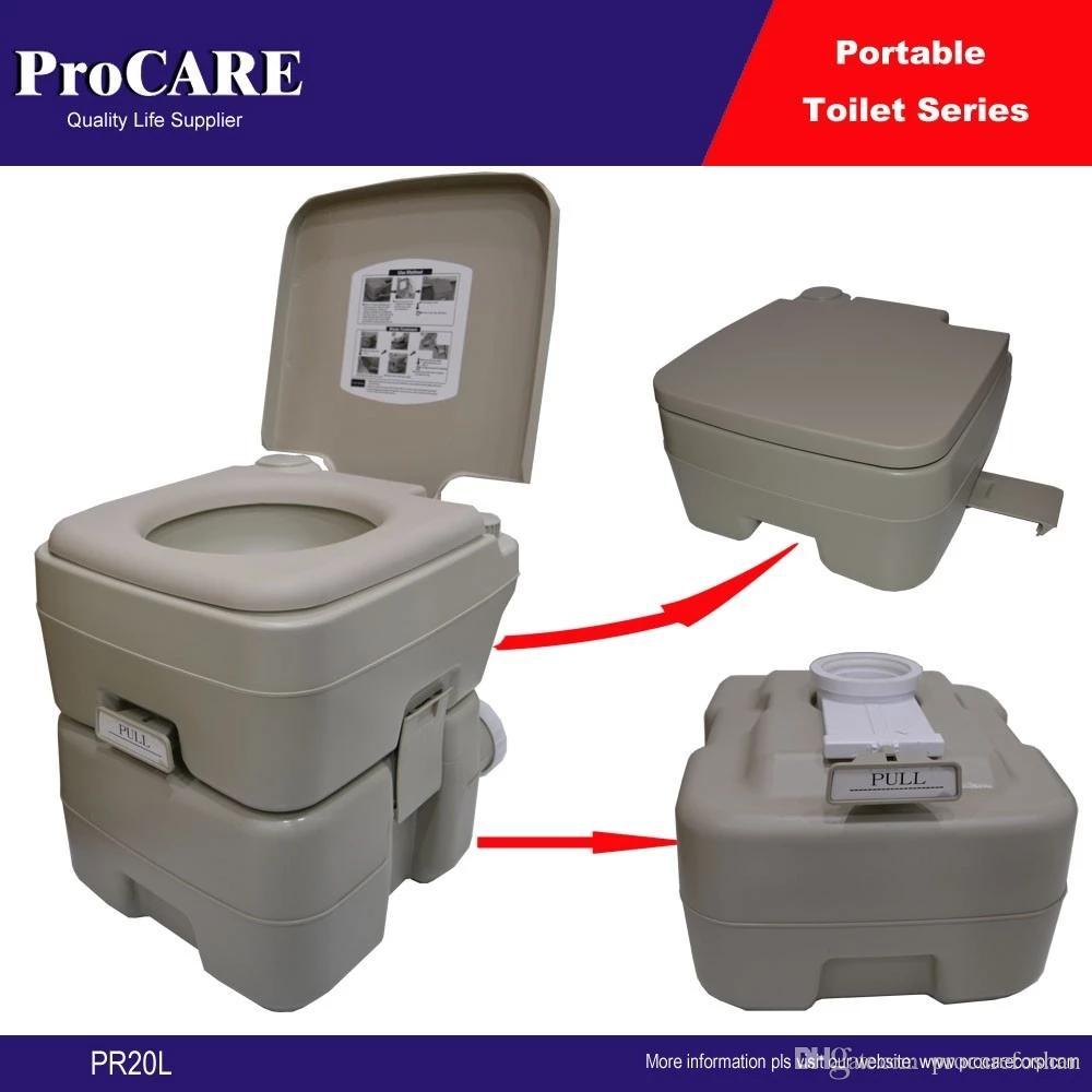 Inodoro Lavable Port/átil Inodoro Plegable Inodoro para Acampar Al Aire Libre selfdepen Inodoro