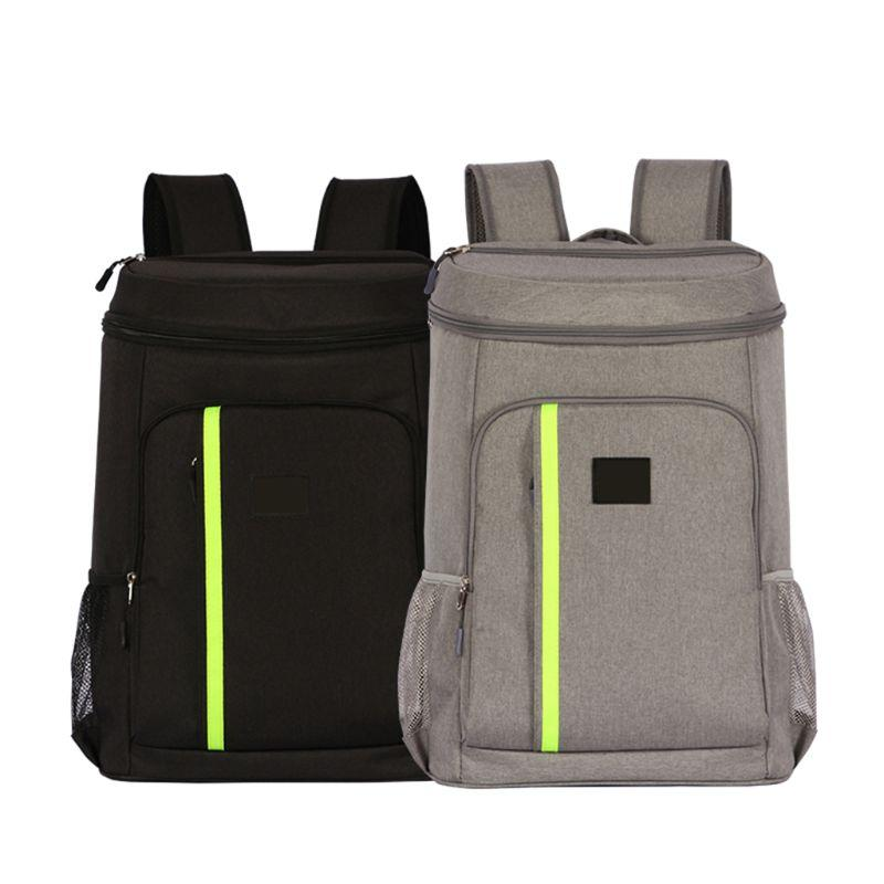 Insulated Ice Cooler Large Backpack Picnic Camping Rucksack Beach Cooling Beer Insulation Thermal Bag With Bottle Opener