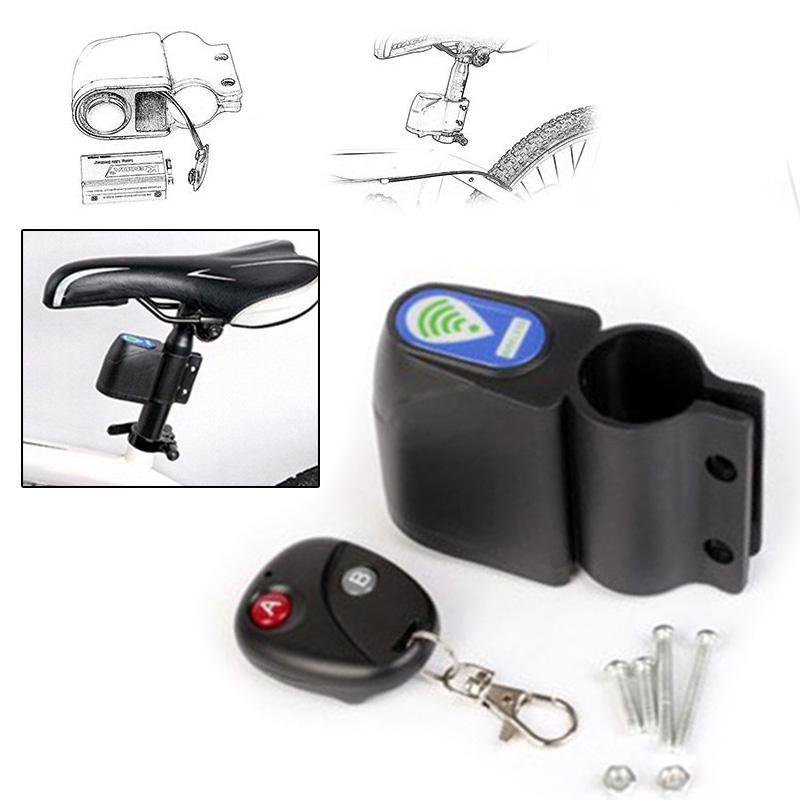 Blocco allarme caldo della bici della bicicletta senza fili con telecomando antifurto sistema di sicurezza MVI-ing