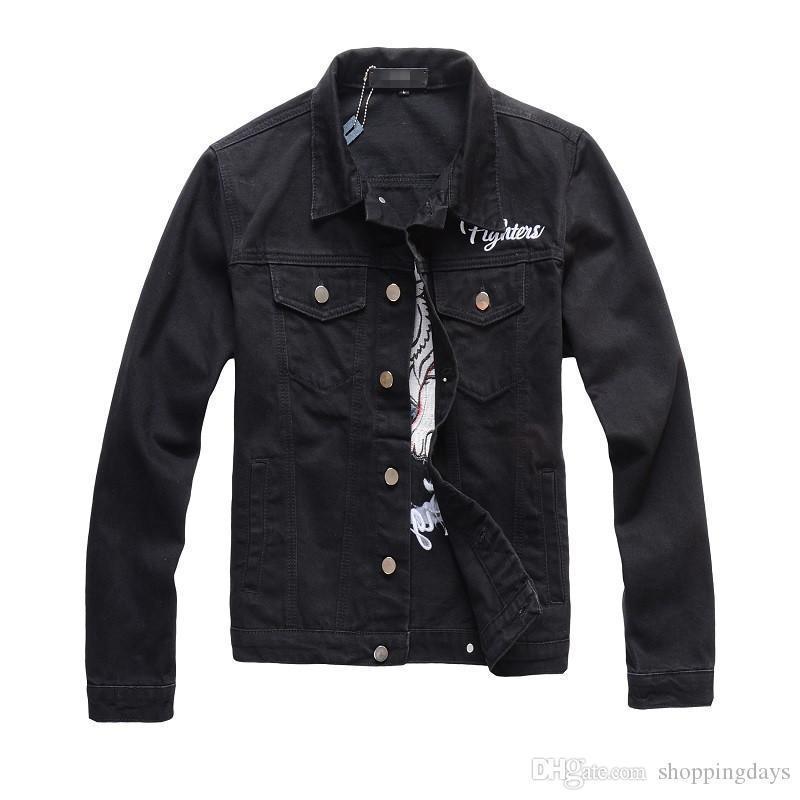 7 Styles Denim Jacket Slim Fit Engine Designer Jackets for Men Jacket Street Solid Casual Vintage M-4XL