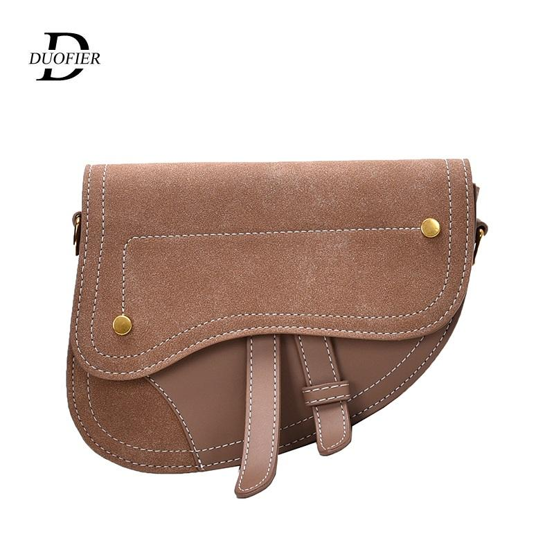 Frauen-Handtasche 2020 Art und Weise der neuen Qualitäts-PU-Leder-Dame Satteltasche Kleine Schultertasche Messenger Bag Fashion