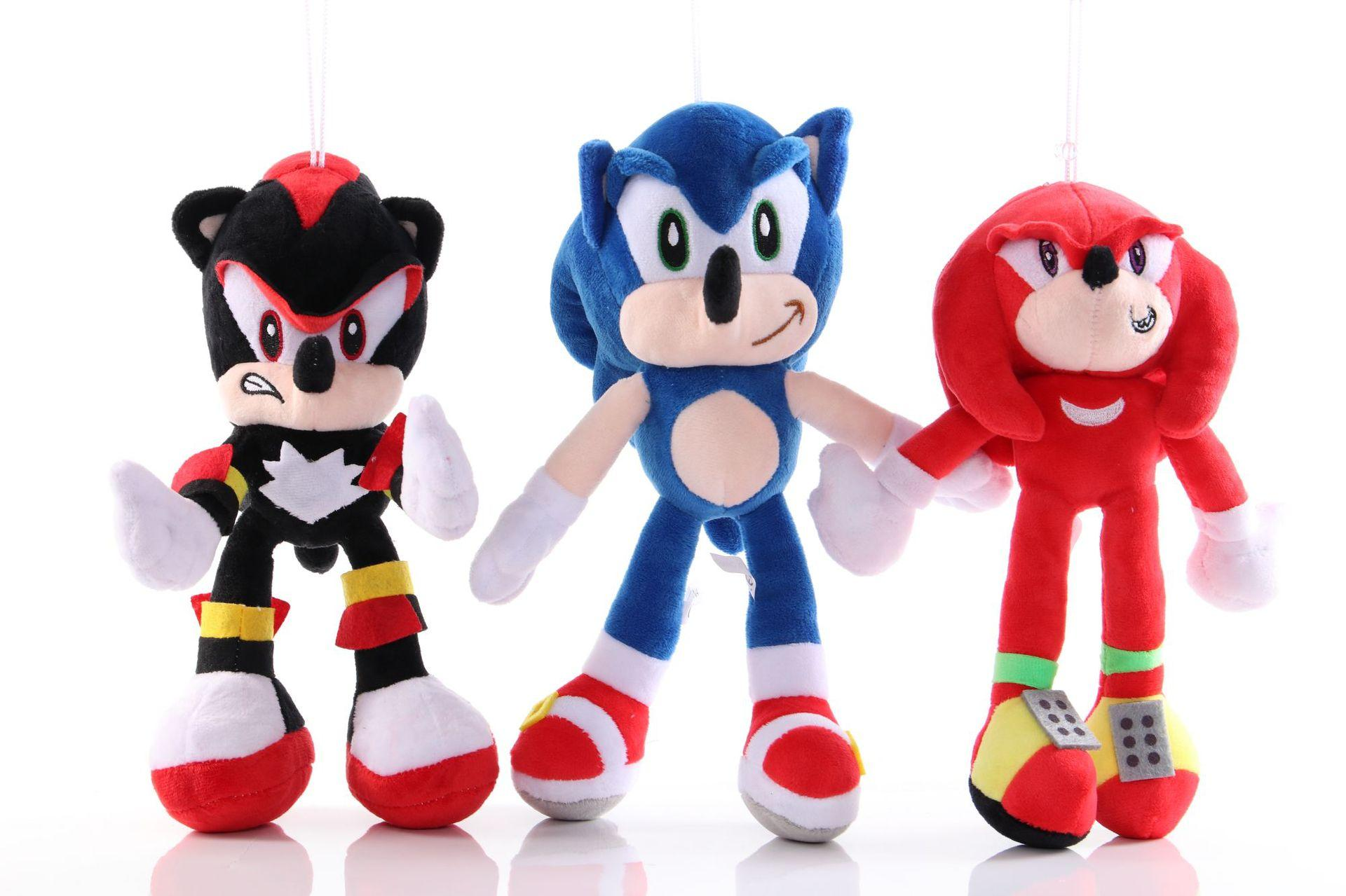 2020 25cm Sonic Plush Toys Sonic The Hedgehog Stuffed Animals