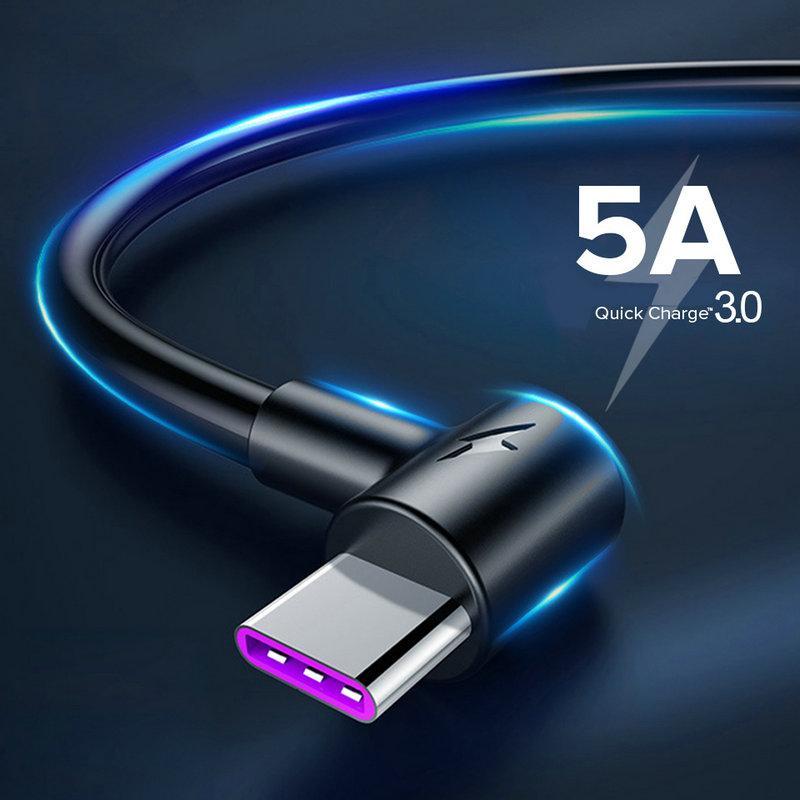 태블릿 노트북 qoaCY 바로 USB에 90도 USB 3.1 타입 C USB C 타입 C를 각도 2.0 여성 OTG 케이블 10cm