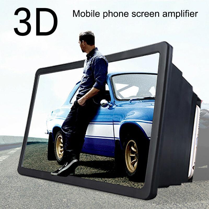 3D العالمي المكبر قابل للسحب مكبر للصوت شاشة الهاتف المحمول HD المكبر
