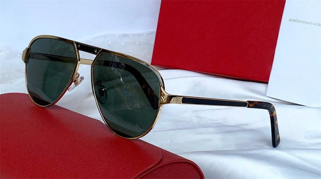 Новая мода солнцезащитные очки 0101 ретро металл старинные рамки стиля моды популярный оптовый стиль высочайшего качества на открытом воздухе очки