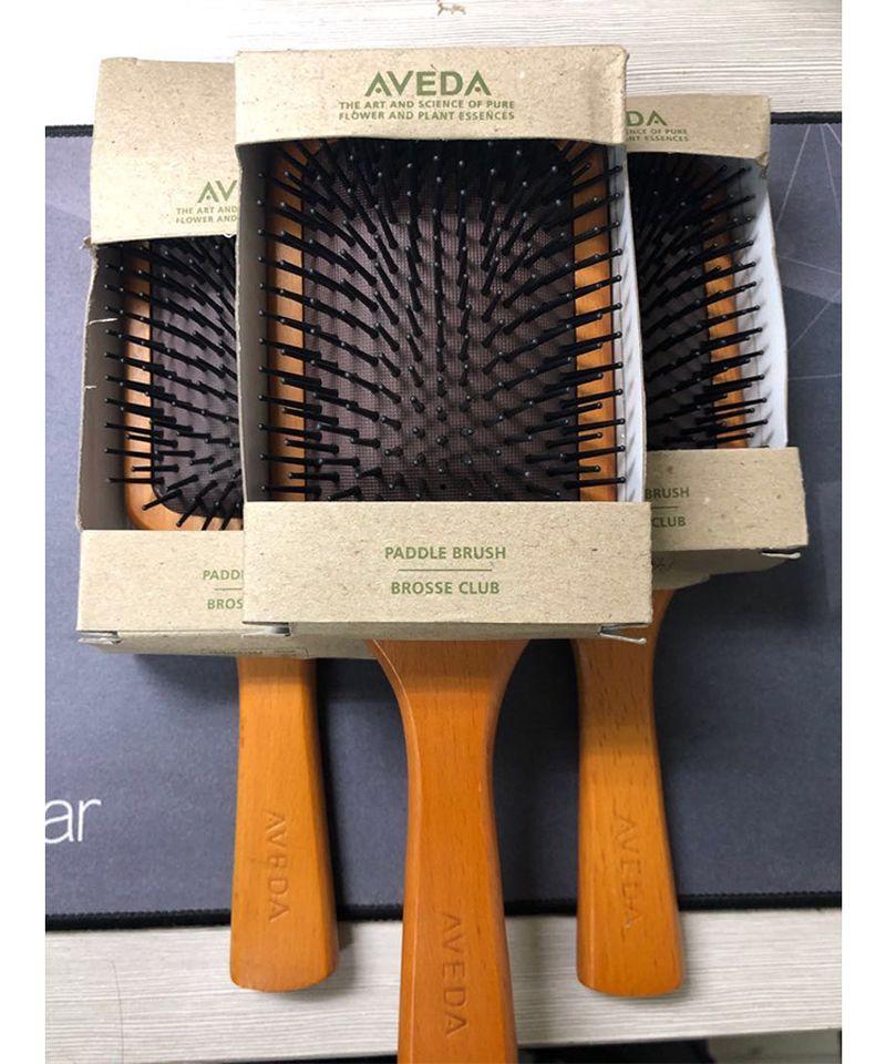 أعلى جودة أفيدا مجداف فرشاة بروس كلوب تدليك شعر فرشاة الشعر منع trichomadesis hair sac massager 0366028