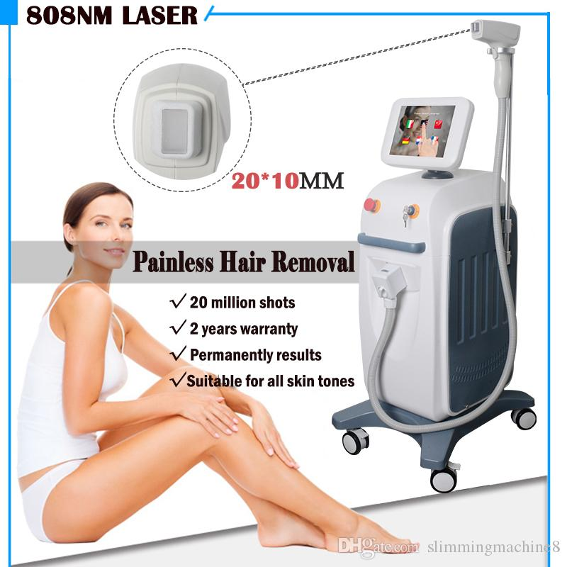 Good Price 810nm Diode Laser Fast Hair Removal Device Vertical