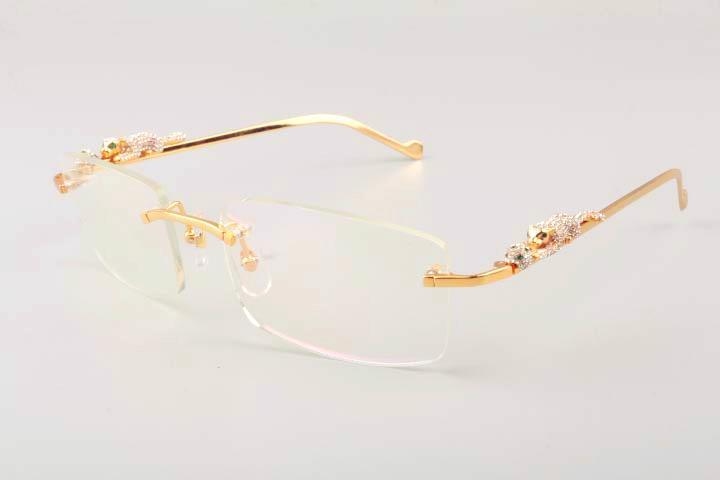 2019 yeni ultra hafif kare leopar elmas altın tapınak güneş gözlüğü 6384083-1 moda modelleri erkek güneş gözlüğü, güneş siperliği