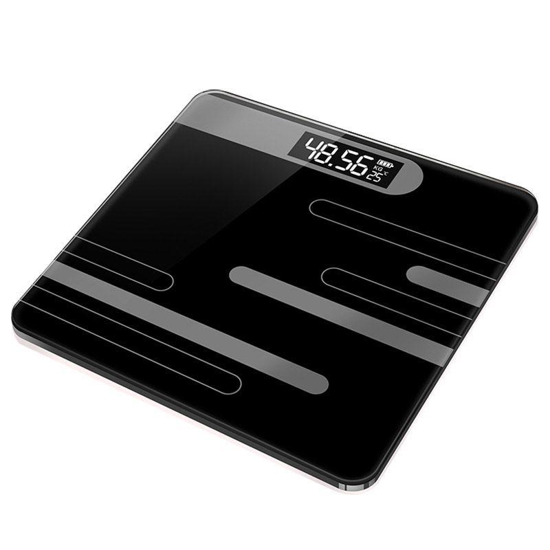 BEAU-Banyo Vücut Cam Akıllı Ev Elektronik Dijital Zemin Ağırlık Denge Bariatrik Lcd Ekran Ana Aksesuarlar Scales