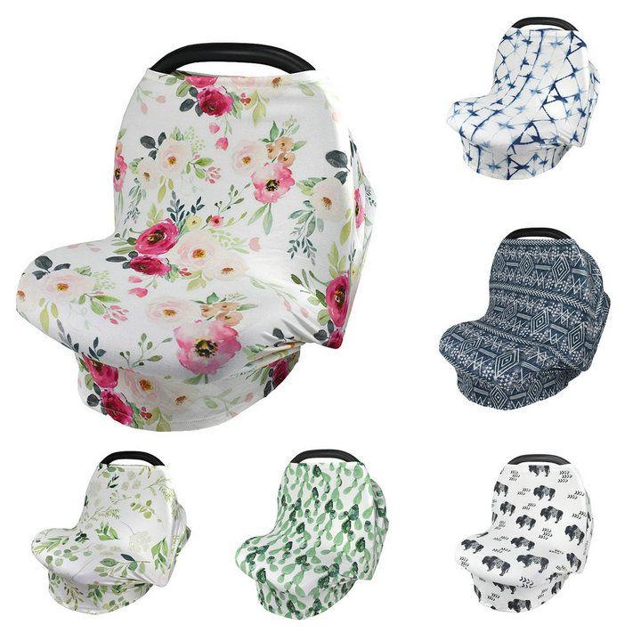 20 أنماط الطفل الأزهار تغذية التمريض غطاء الطفل عربة غطاء الزجاج الأمامي الرضاعة الطبيعية منشفة الزجاج الأمامي أدوات المظلة لوازم الأمومة