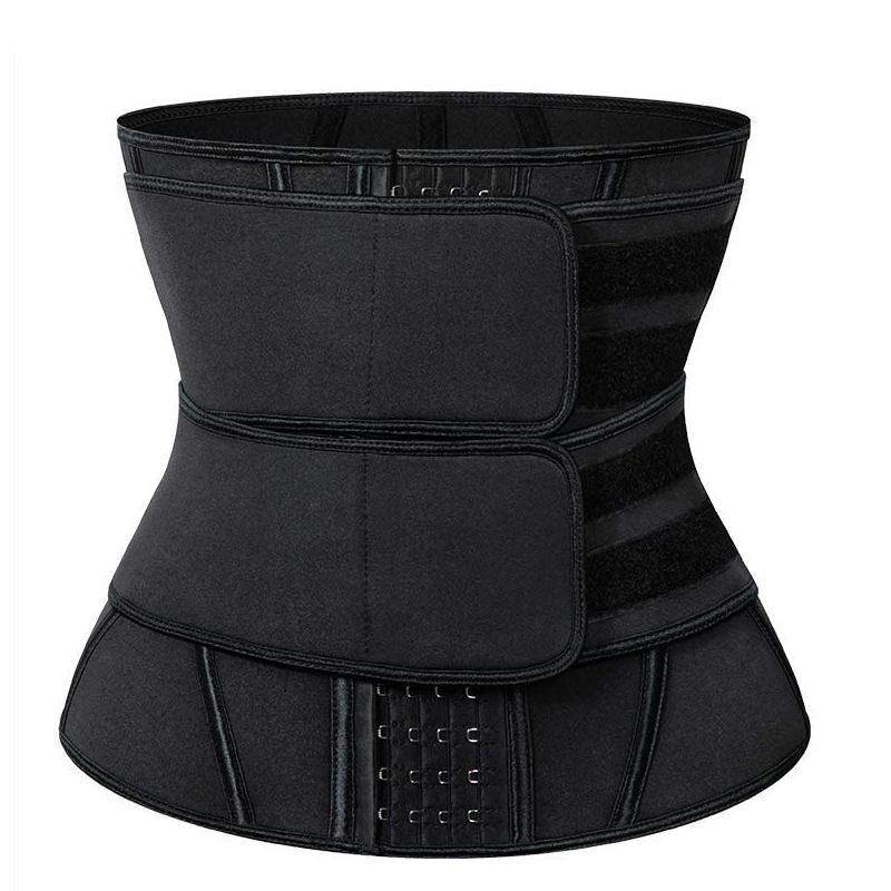 Shapewear vita Trainer pancia cintura di Cincher del corsetto Costruire-In 4 ganci in acciaio 13 Obbligazioni Postpartum Recovery Strap donne incinte Firm dimagrante
