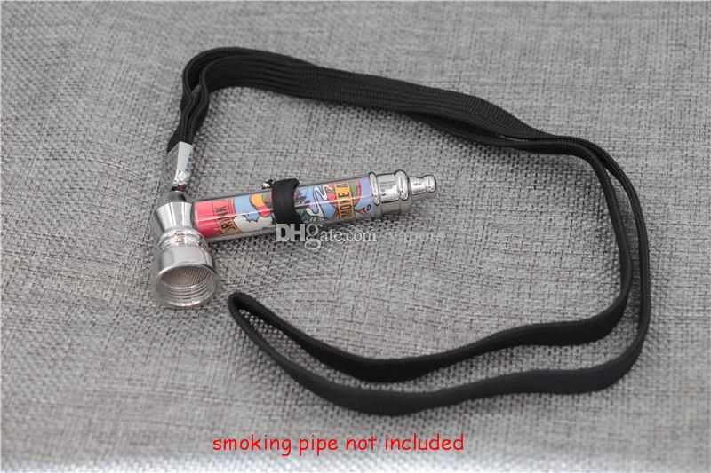 Universal Silicon Lanyard String Necklace rubber Ring eGo Electronic Cigarette E-cigarette silicone Ring for Ego eovd battery kit Neck Sling