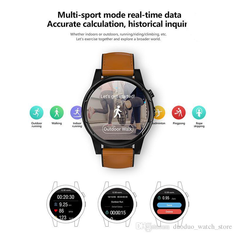 2020 лучший 4G GPS wifi спорт Android os смарт-телефон часы с 3 ГБ+32 ГБ памяти 2MP камера сердечного ритма человек Bluetooth smartwatch