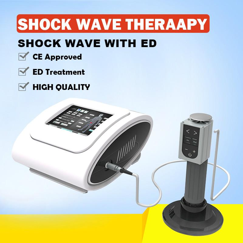 2020 New Style Beauty Medical Equipment Portable Shock Wave Air Pressure Therapy Machine For Commercial & Home Use