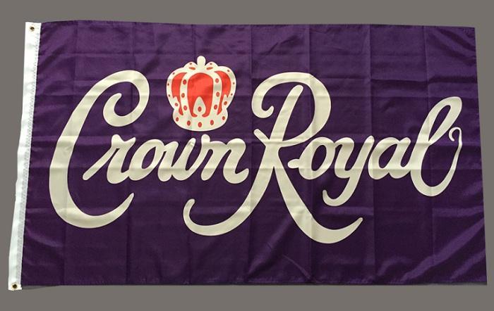 Crown Royal Flag 90x150cm 3x5ft poliestere stampato bandiera bandiera di volo attaccatura a Decorazione Con l'alta qualità