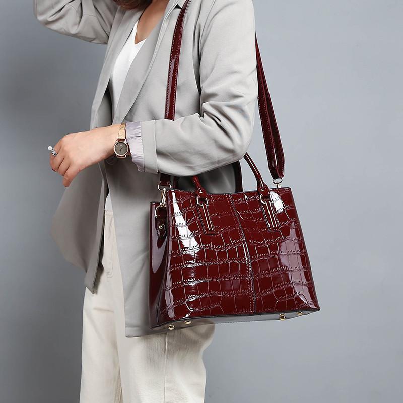 2019 Nuove Donne Messenger Bag Signore di Marca Borse A Mano Femminile di cuoio Dell'unità di elaborazione di Lusso Delle Donne Delle Borse Del Progettista Sac A Main Femme Bolsa