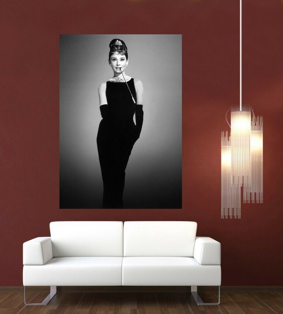 Одри Хепберн Giant 1 шт Wall Art Картина Home Decor расписанную HD Печать картины маслом на холсте Wall Art Холст 200204