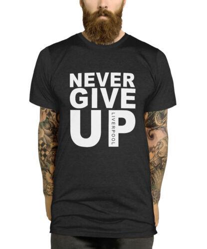 Nunca da para arriba la camiseta de Campeones Final de Madrid Mo 2019 Salah camiseta de los hombres