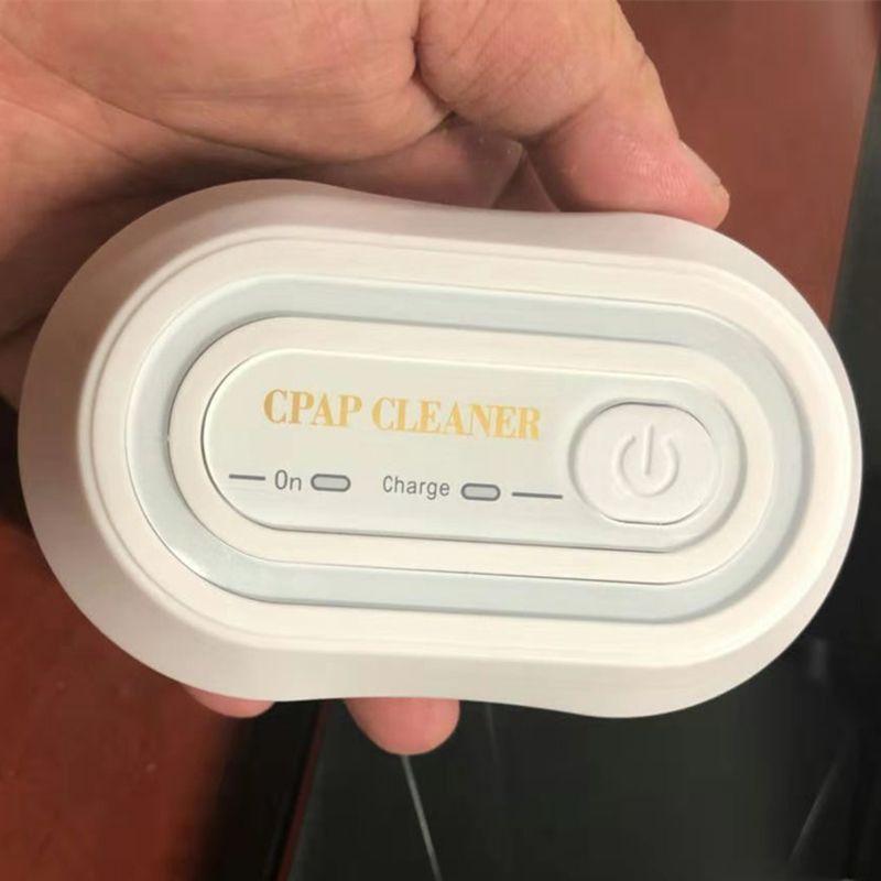 CPAP cleaner cpap sterilizzatore Ventilatore Sterilizzatore disinfezione ozono disinfezione macchina Batteria al litio ricaricabile 2200mAh CE FDA