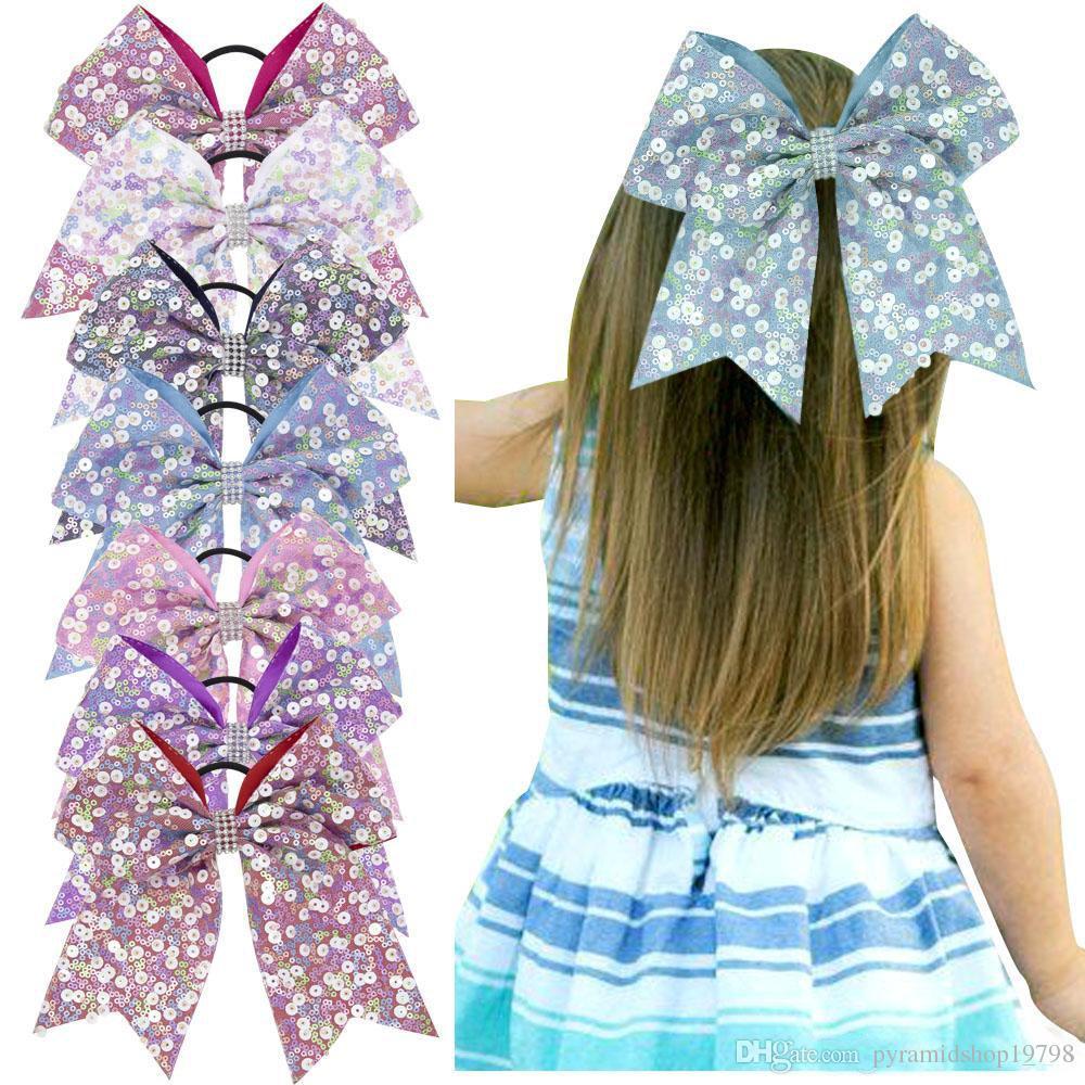 Mode Baby Mädchen großen Bogen Stirnbänder elastische Bowknot Haarbänder Kopfbedeckungen Kinder Kopfschmuck Stirnbänder Neugeborenen Turban Kopf