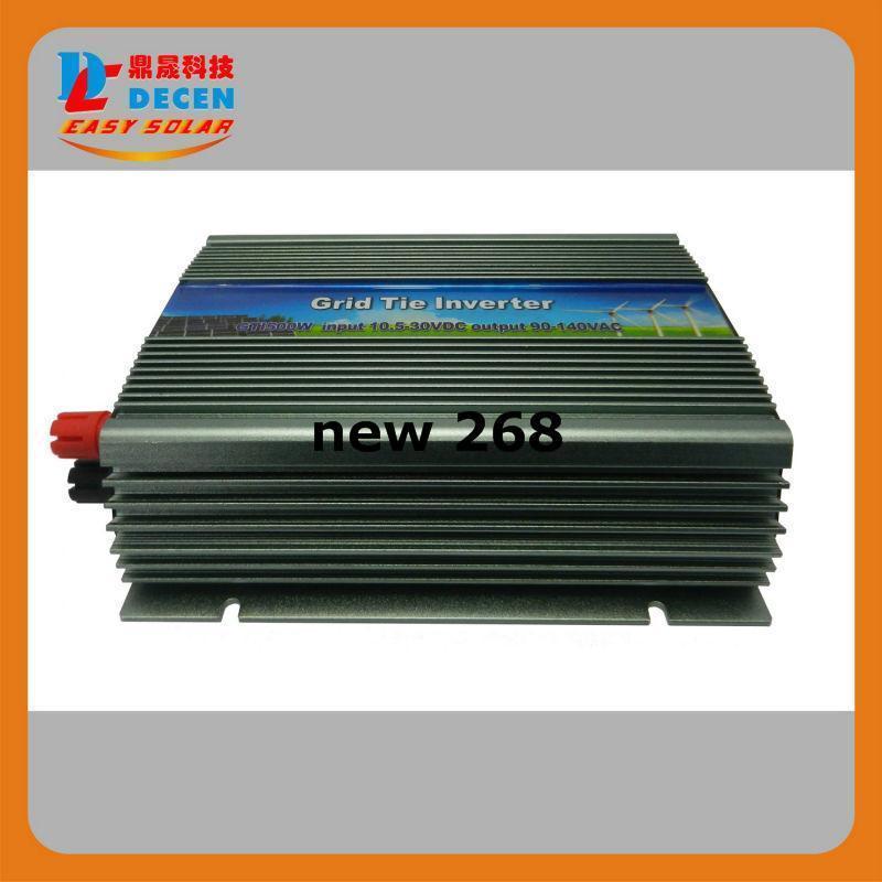 Freeshipping DECEN@ 10.5-30Vdc 600W Solar Grid Tie Inverter Output 190-260Vac,Pure Sine Wave power inverter For Home Solar System